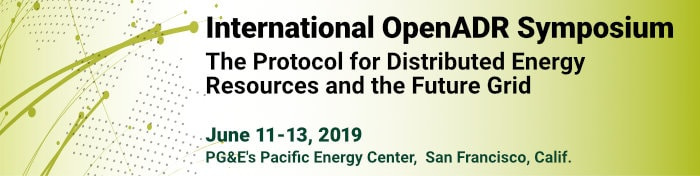 International OpenADR Symposium, San Francisco, Calif.